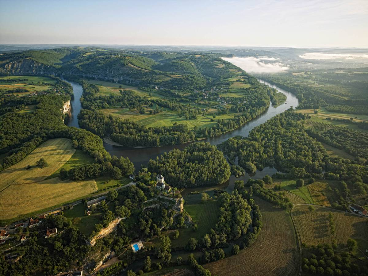 Vallée de la Dordogne : un endroit propice au camping